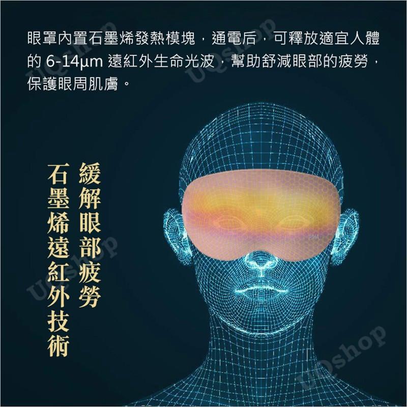 現貨 正品有保固 小米 PMA石墨烯發熱真絲眼罩 熱敷眼罩 usb眼罩 蒸氣眼罩 安眠助眠眼睛護眼 眼部舒壓 加熱 眼罩