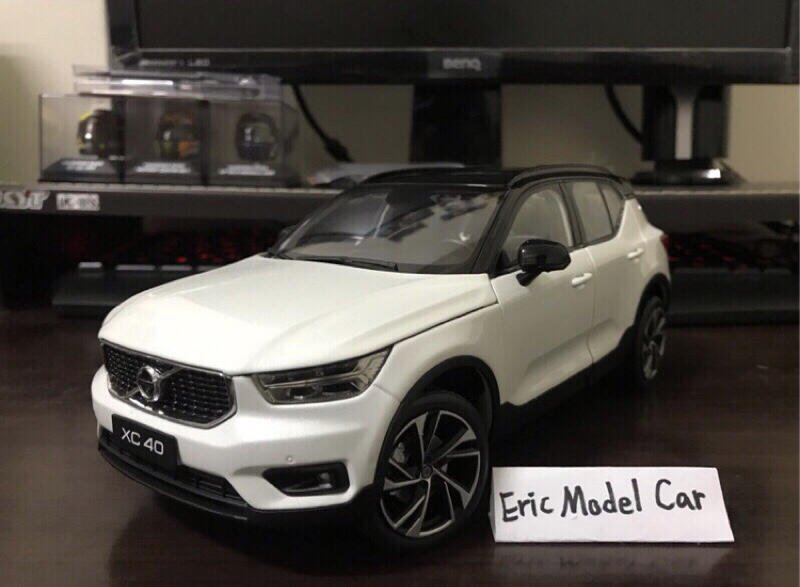 【E.M.C】1:18 1/18 原廠 Volvo XC40 R-Design 金屬模型車