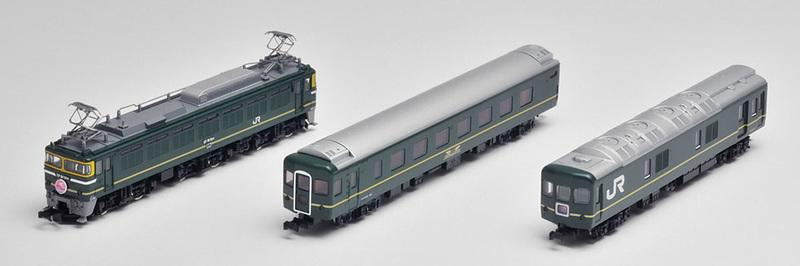 預購中 Tomix 92459 N規 JR EF81 24系 3輛基本組