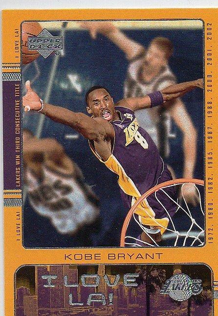 [SAMC]  Kobe Bryant 2002-03 Upper Deck I Love L.A.