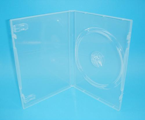 【臺灣製造】單片裝14mm PP霧透 CD盒/DVD盒/光碟盒/CD殼/有膜 50個