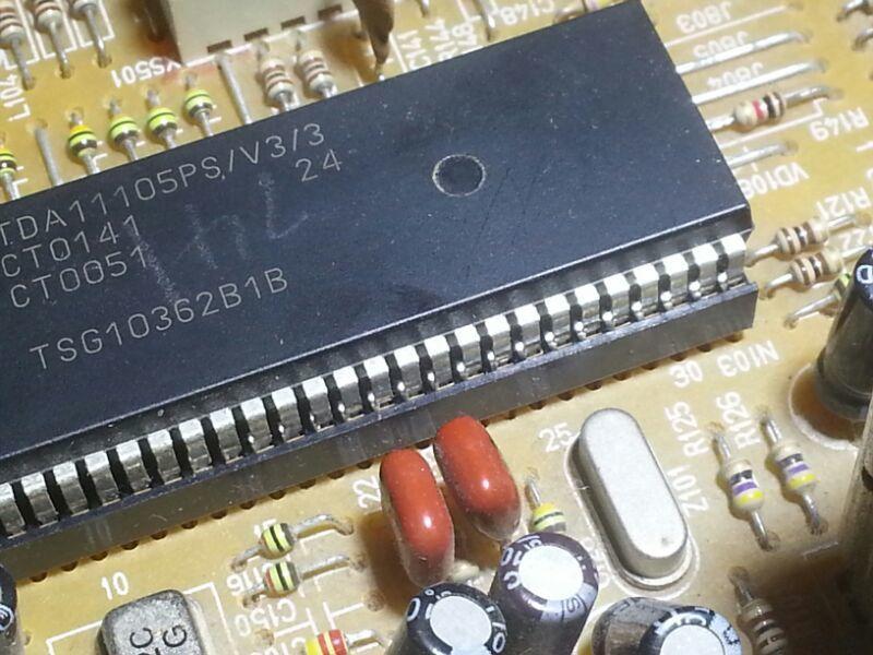 [二手拆機][含稅]原裝超級晶片TDA11105PS/V3/3 品質保證