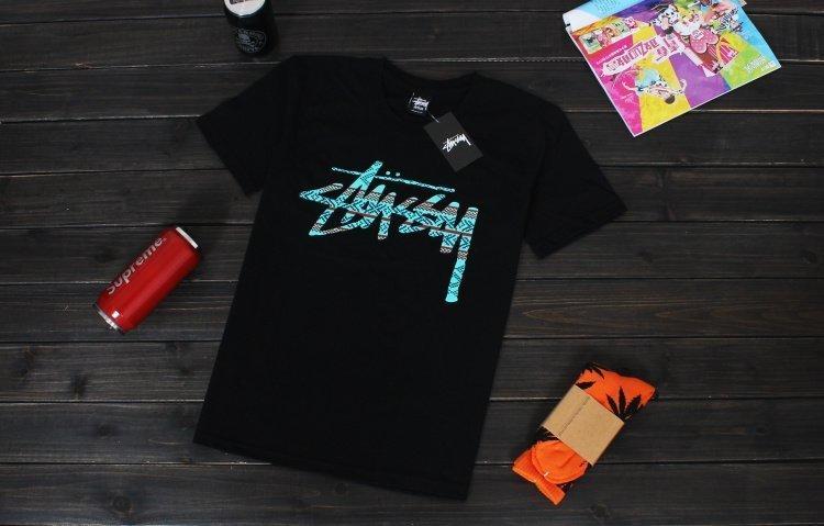 歐美潮牌 Stussy Stock Knit 15ss t恤男 夏季短袖t恤情侶短袖