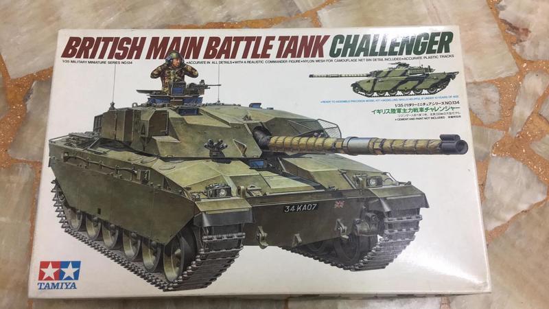 TAMIYA 1/35 British Main Battle Tank CHALLENGER 挑戰者