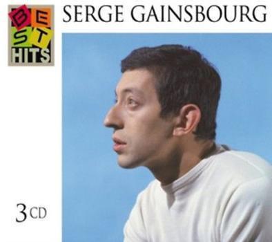 Serge Gainsbourg 塞吉甘斯柏 法國歌神生涯精選3CD典藏菁華【法國地區限定版-專案進口限量引進】全新