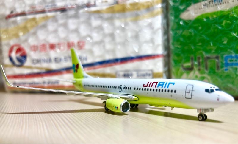 真航空 Jin Air 737-800 1/400 前身為華信航空 (Phoenix)