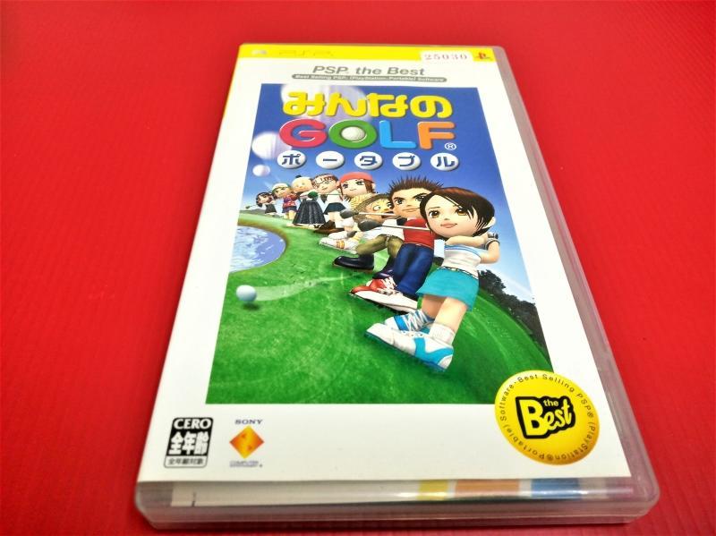 ㊣大和魂電玩㊣ PSP  全民高爾夫{日版}編號:N3-5---掌上型懷舊遊戲