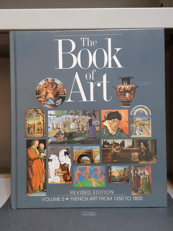 《The Book of Art-5 : French Art From 1350 To 1850》