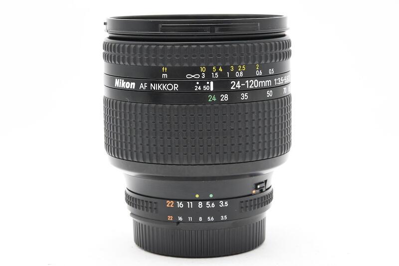 尼康 NIKON AF 24-120mm F3.5-5.6D 星芒旅遊鏡 變焦廣角鏡頭 實用品 (三個月保固)