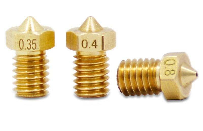 【創意3D列印】台灣現貨開發票 E3D噴嘴E3D-V5 V6 M6螺紋