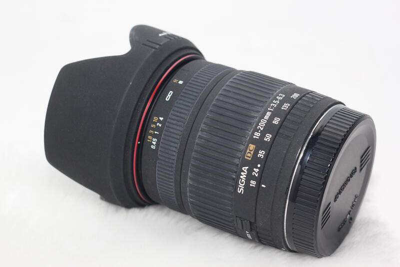 Sigma 18-200mm F3.5-6.3 For:Canon
