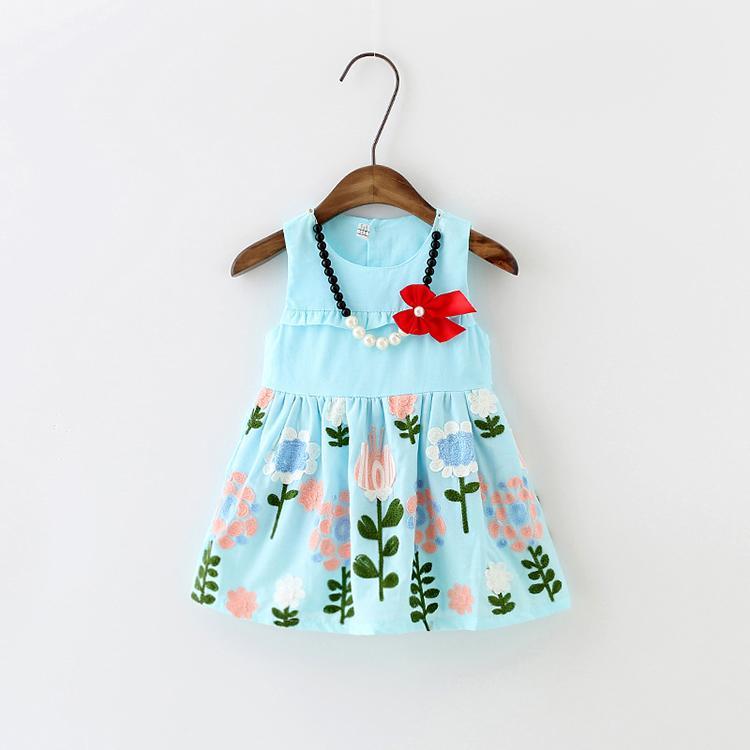 0-1-2-3歲4女寶寶裙子夏裝嬰兒衣服女童連衣裙韓版公主裙純棉夏季