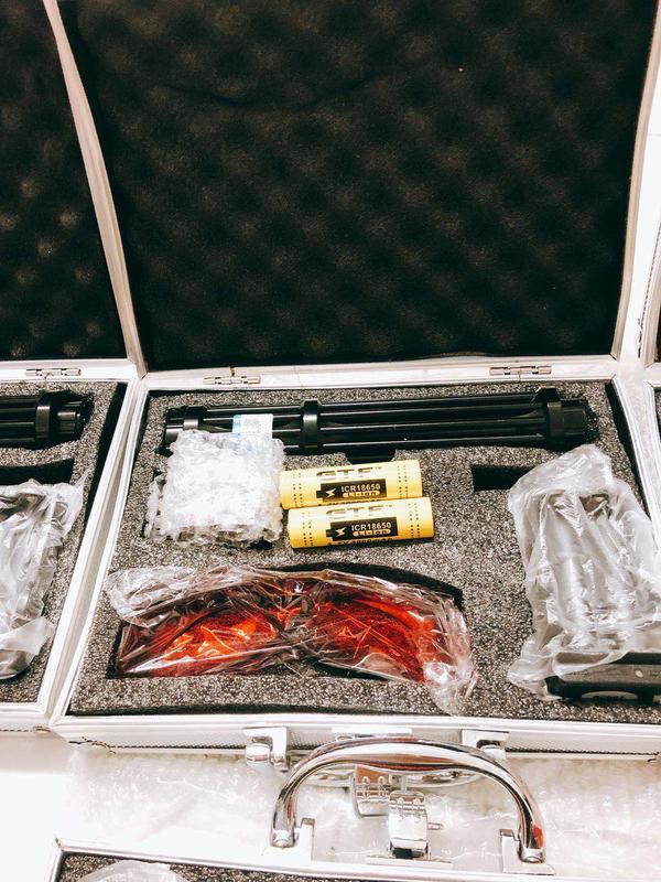 雷射筆目前最大功率加長版18650大功率激光藍光鐳射燈激光手電激光