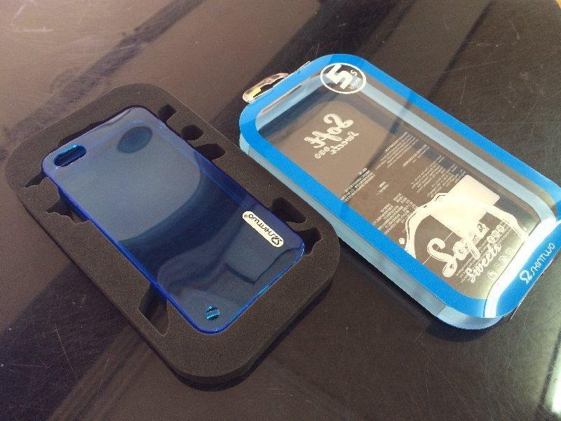 *V&C潮流*原廠Skin-two Soft 藍軟糖全透彩TPU軟套 APPLE iPhone5S iPhone 5S 背殼 保護殼 保護套 手機殼 可加購螢幕保護貼60起