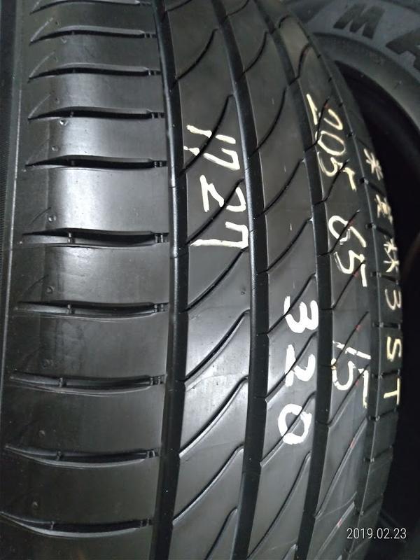 205 65 R 15 17年27週製 米其林 3ST 二手 中古 落地 輪 胎 一輪1500元