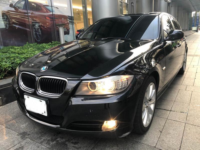 汎德 寶馬 BMW 2011年出廠 318D 柴油 天窗 黑色  誠可議價!