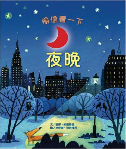 【APPLE媽咪童書店】台灣麥克 英國Usborne 偷偷看一下 夜晚