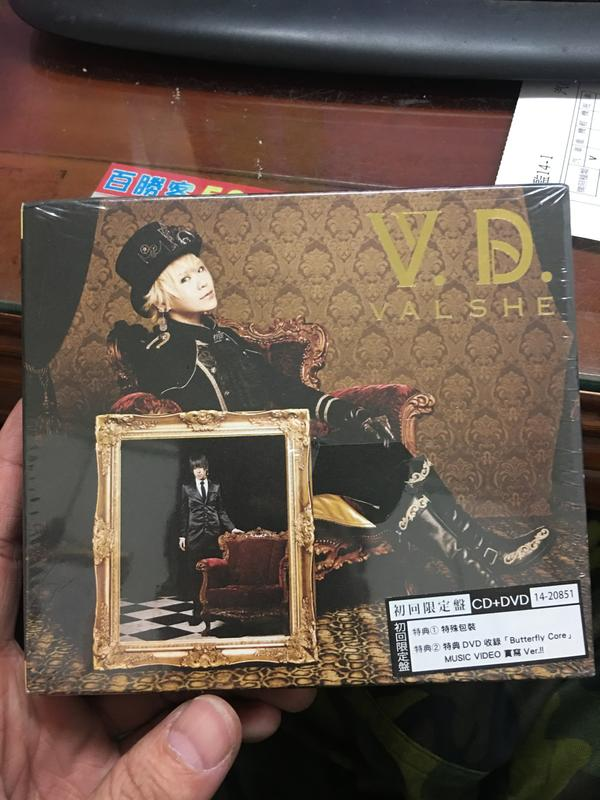 <全新未拆>VALSHE VALSHE-V.D. CD+DVD