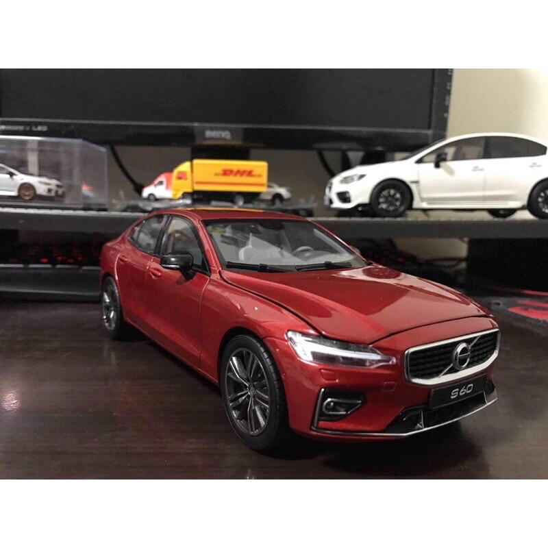 【E.M.C】1:18 1/18 原廠 Volvo S60 S60L T5 2019 金屬模型車