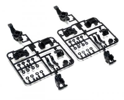 【汽車模型-免運】拼裝電動遙控車RC模型配件 CR01 D部件轉向杯TA51328美嘉模型