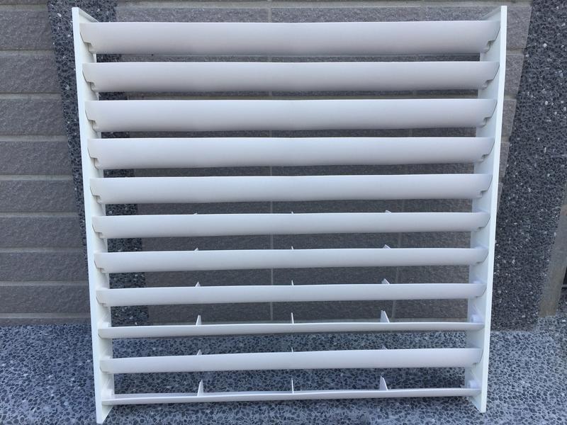 冷氣室外機 分離式導風罩 可調式葉片