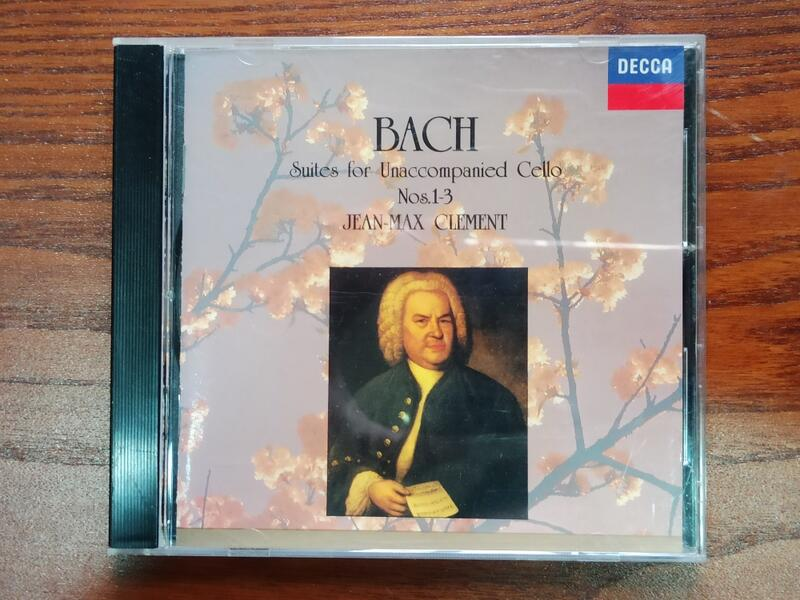 JeanMax Clement-Bach: Suites for Unaccompanied Cello No. 1-3