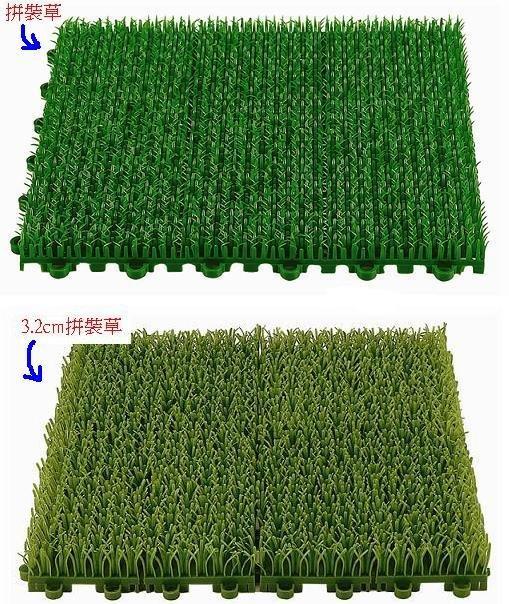 綠化~拼裝人工草-可當門墊刮沙用,也有各式止滑墊