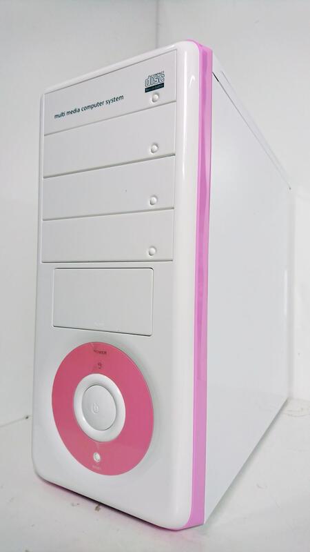 (楊舍3C) 向日葵 粉紅 電腦機殼  庫存新品