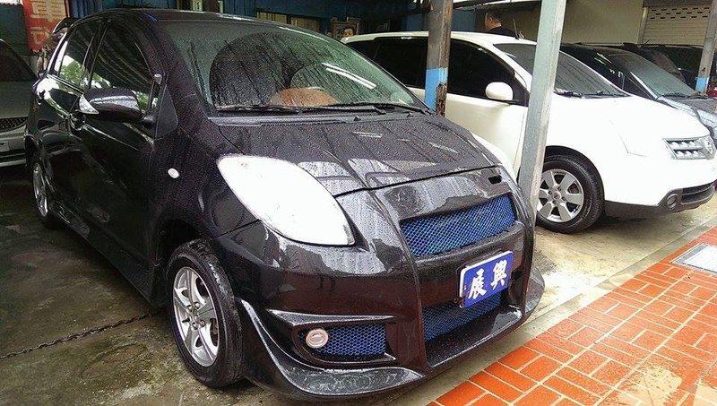 2012年YARIS 外觀小改裝 時尚掉了 非 自售 賞車優惠價
