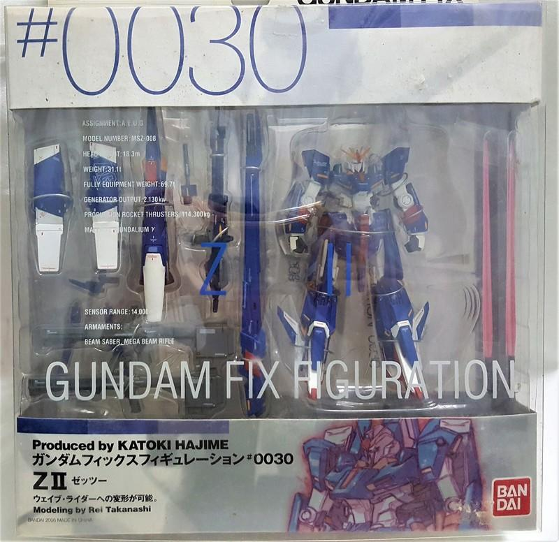 Toys & Hobbies Anime & Manga Modest Gundam Fix Figuration #0030 Msz-008 Zii Actionfigur Bandai Aus Japan