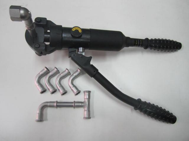 黑金剛不鏽鋼水管壓接鉗.壓接工具.壓接機