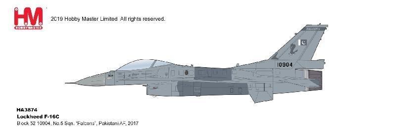 ☆預購01月底到貨☆全防◆軍機飛行館◆[1/72]HM(HA3874) F-16C Pakistani AF, 2017