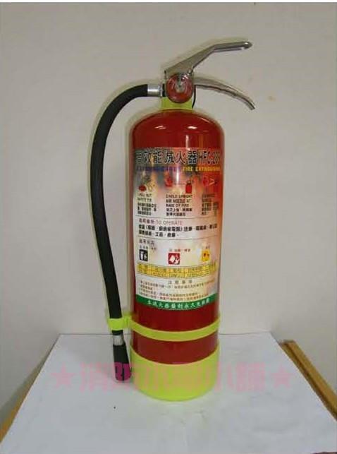 ★消防水電小舖★ 10型 10P 紅瓶 HFC-236 潔淨氣體 海龍替代品 可附藥劑檢驗報告 來電洽詢2支免運費