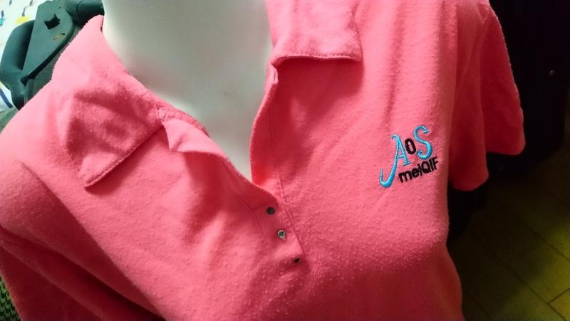 二手衣 短袖女上衣 中大碼 粉紅色
