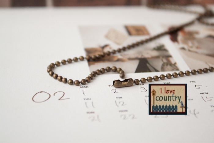 May Quilt 拼布專用古銅色珠鏈:買五送一3.2MM,2.4MM,16MM三種尺寸的1.6MM專區