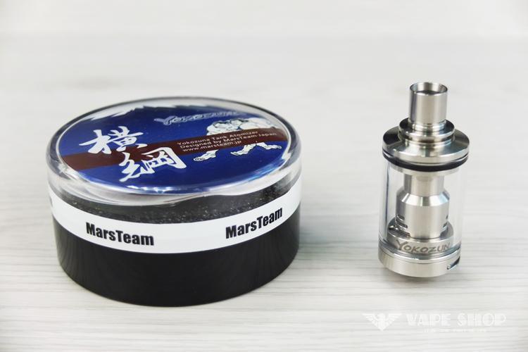 【沃德維普】MarsTeam YOKOZUNA Tank(橫綱) 蒸發器 絕非電子 煙 煙油