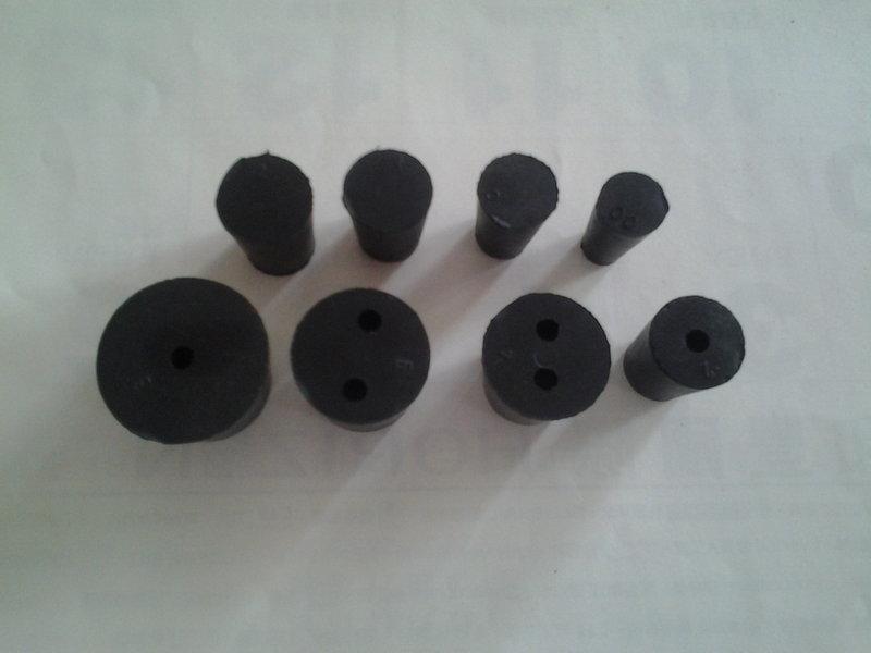 實驗室用品 橡膠塞上徑56mm~128mm 橡皮塞 橡膠塞 矽膠塞 玻璃燒瓶塞 試管塞 塞子 軟木塞 矽塞 中孔塞