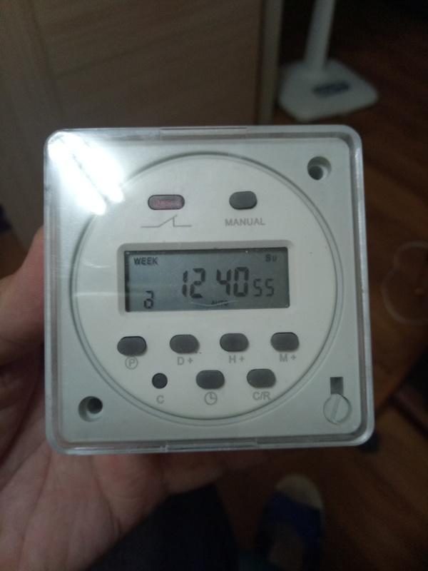 洛克小舖-110V 可程式多組時間定時器(不是ANLY.或FRONTIER).AB端點控制.非電源插座.
