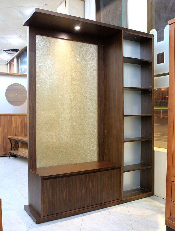【歐風別館】五尺和風胡桃木隔間櫃【基隆至台中免運費】