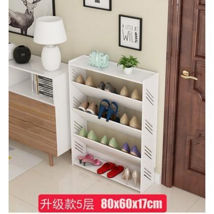 【免運】簡易鞋架家用多層鞋櫃客廳簡約歐式雕花防塵經濟型宿舍組裝置物架 省空間 易組裝 60公斤承重 多層收納
