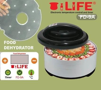定時定溫變頻三合一FD-9A-8層點心大師乾燥機+8細網送2片糖盤