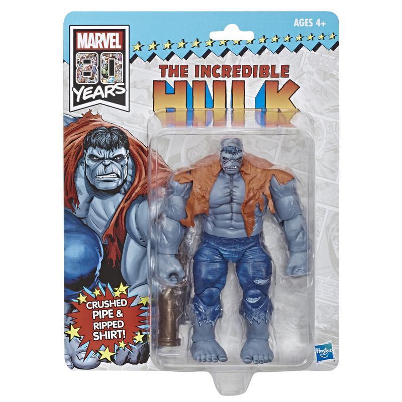【合川玩具 】現貨 漫威 Marvel Legends 八十週年紀念6吋 浩克 灰浩克 Incredible Hulk