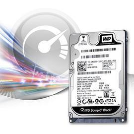 wd scorpio black 750GB 7200RPM SATA 2.5吋硬碟機