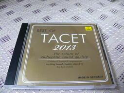 【博多二手書】best of tacet 2013