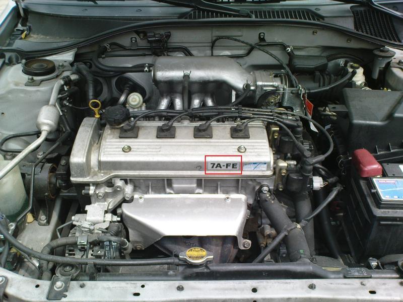 Toyota Corolla Exsior Premio 正廠 汽門蓋 貼紙 銘牌 7A-FE (7A-FE引擎適用)