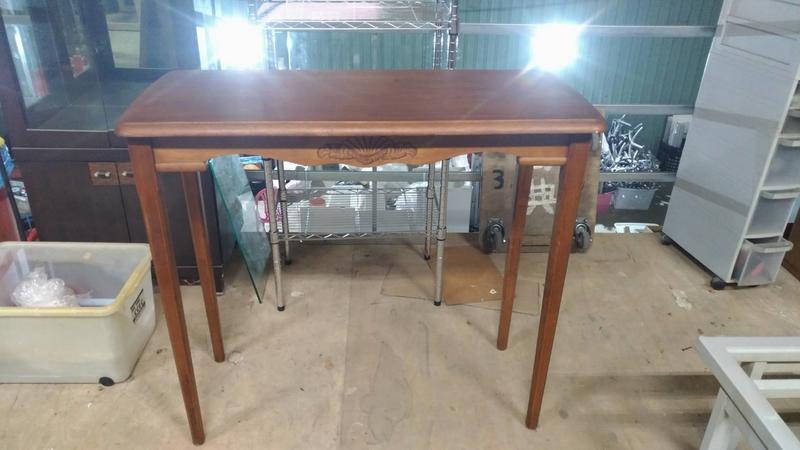 【尚典中古家具】實木高腳桌 二手餐桌