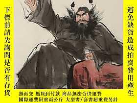 古文物罕見【一級美術師】王西京,構圖新奇,筆墨凝重的一幅《鍾馗》,線條極具層次之感,精品。本店所有拍品全不保真,絕對保證