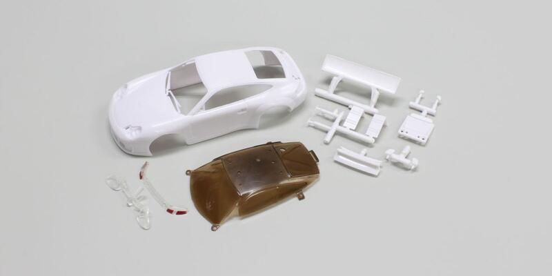※宏大※(全新)KYOSHO MINI-Z 房車用車殼(MZN104) PORSCHE 911 GT3 RSR 白殼