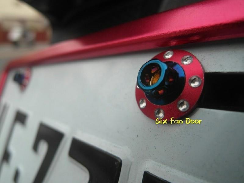 『六扇門』萬元套餐 下殺只要兩千 RACINGS 雷霆S 125 全車 鍍鈦螺絲 燒鈦 鍍鈦 車殼 車牌螺絲 造型螺絲
