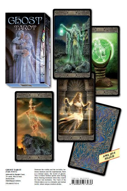 2014NEW★塔羅事典★孟小靖的塔羅博物館《鬼魂塔羅牌 Ghost Tarot 》
